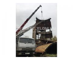 Демонтаж металлоконструкций в лом - быстро и безопасно!