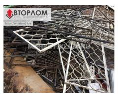 Демонтаж металлоконструкций, Прием металлолома, Металлолом вывозим.