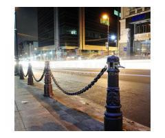 Столб ограждения городской