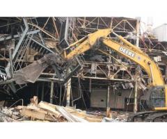 Демонтаж металлоконструкций в Новосибирске
