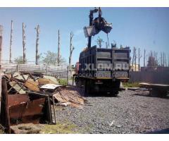 Вывоз металлолома с территории клиента