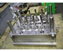 Пресс-форма для производства ПЭТ бутылок преформ 42 гр 8 гнезд с горловиной под воду