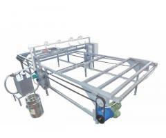 Автоматический станок для нанесения клея на сип панели АС-1НК