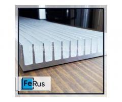 Профиль радиаторный алюминиевый от 13 до 401 мм