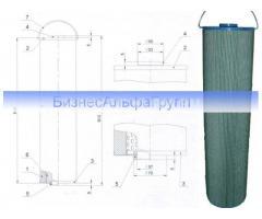 Фильтр ЭФМГ 150x88х12,5x605x1x5, фильтрующий элемент ЭФМГ 150х54х363х1х5х09хПС, ЭФМГ 150