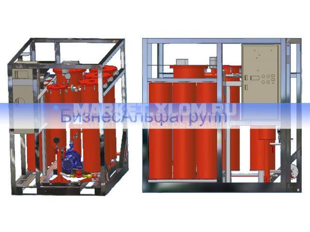 Установка осушки и регенерации трансформаторного масла ELMO-ОФ-1/3Р (цеолитовая установка) - 1/1