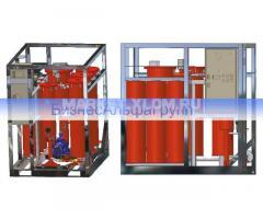 Установка осушки и регенерации трансформаторного масла ELMO-ОФ-1/3Р (цеолитовая установка)