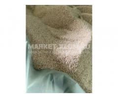 Песок кварцевый и формовочный