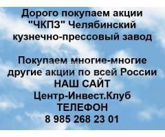 Покупаем акции ЧКПЗ
