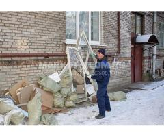 Вывоз мусора мебели хлама доставка сыпучих материалов подъём демонтаж